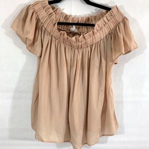 Lucca Couture off the shoulder blouse